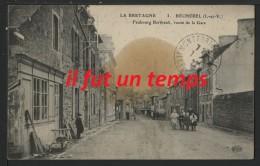 35 BECHEREL - Faubourg BERTHAULT, Route De La Gare - Bécherel