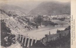 11056-RIOLUNATO(MODENA)-IMPIANTO IDROELETTRICO PONTE DI STRETTARA-LA DIGA-1920-FP - Modena