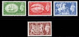 Great Britain 1951 MH Set SG 509/512 Cat £100 - 1902-1951 (Könige)