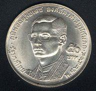 Thailand, 50 Baht 1971, Buddhismus, Silber, UNC - Thaïlande