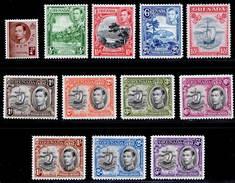 Grenada 1937-1950 MH Set SG 152/163 Cat £80 - Grenada (...-1974)