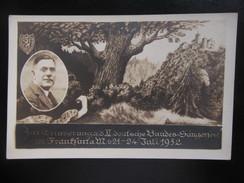 Postkarte Bundessängerfest Frankfurt 1932 - Frankfurt A. Main