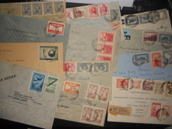 Argentine Lot De 18 Lettres Des Annees 40, Avec Des Recommandes - Lettres & Documents