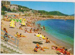 83,VAR,TOULON,VUE AERIENNE,PLAGE - Toulon