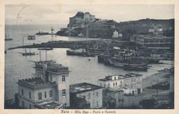 11064-BAIA-BACOLI(NAPOLI)-VILLA GINA-PORTO E CASTELLO-1933-FP - Napoli (Naples)