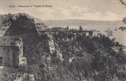 11065-BAIA-BACOLI(NAPOLI)-PANORAMA E TEMPIO DI DIANA-1928-FP - Napoli