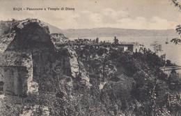 11065-BAIA-BACOLI(NAPOLI)-PANORAMA E TEMPIO DI DIANA-1928-FP - Napoli (Naples)