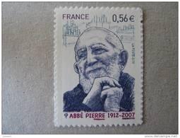 FRANCE  P 389 * *    ABBE PIERRE ADHESIF - Adhésifs (autocollants)