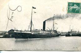 """N°58740 -cpa La Pallice Rochelle -le Paquebot """"Oravia"""" Dans L'avant Port- - La Rochelle"""