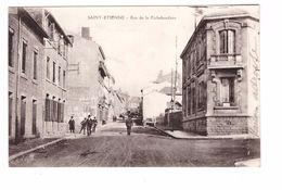 42 St Saint Etienne Carte Rare Rue De La Richebandiere Richelandiere Correspondance 1910 - Saint Etienne