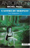 FNA 1794 - PAGEL, Michel - L'Antre Du Serpent (BE+) - Fleuve Noir
