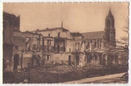 (Guerre De 1939 45) 083, Nantes Après Le Bombardement, Chapeau 12, L'Hotel Dieu - Guerre 1939-45