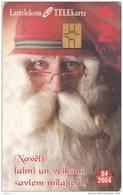 LATVIA - Santa Claus, Exp.date 04/04, Used - Latvia