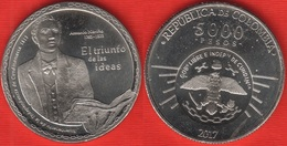 """Colombia 5000 Pesos 2017 """"Independence Of Cundinamarca"""" UNC - Colombia"""
