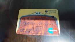 Russia-credit Card-(set188)-(9015545775)-used+1card Prepiad Free - Geldkarten (Ablauf Min. 10 Jahre)
