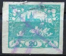 CHECOSLOVAQUIA 1918 Definitive Issue. USADO - USED. - Usados