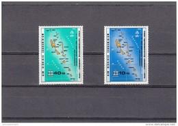 Nueva Hebrides Nº 551 Al 552 - Leyenda Inglesa