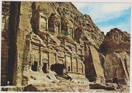 JORDANIE,JORDAN,ED DEIR,PETRA,monastere,cité Antique,du Roi Nabateen Obodas 1er,45 De Large Et 42 M De Haut - Jordanien