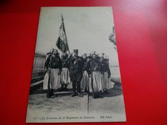 LE DRAPEAU DU 3E REGIMENT DE ZOUAVES - Militari
