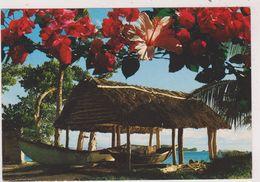 SEYCHELLES,OCEAN INDIEN,EXPLORE PAR VASCO DE GAMA,PIROGUE,PAILLOTTE - Seychelles