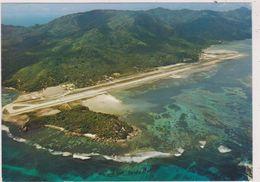 SEYCHELLES,OCEAN INDIEN,EXPLORE PAR VASCO DE GAMA,MAHE,AIRPORT,VUE AERIENNE AEROPORT - Seychelles