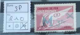 SP NR 210 POSTFRIS XX - Chemins De Fer