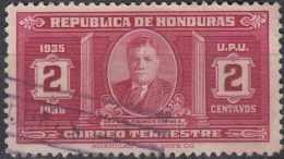 HAITI 1935  Pres. T. Carias - 2c. - Red FU - Haiti