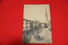 Thiene Vicenza La Piazza 1918 Ed. Fabris - Vicenza