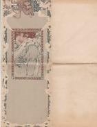 """Menu écrit Par Des Poilus GUERRE EUROPEENNE  -1916 """"Grand Festin Républicain Et Désinteressé"""" - Menú"""