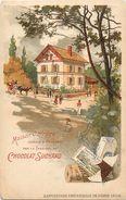 - Themes -ref-MA64- Paris - Exposition Universelle 1900 - Maison Ouvriere  Exposee A Vincennes Par Le Chocolat Suchard - - Publicité