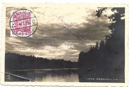 Letonia. Postal Circulada En 1938 A Sevilla - Letonia