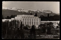 B4241 GENÈVE - LE PALAIS DES NATIONS - GE Ginevra