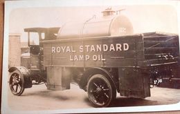Worcester ROYAL STANDARD LAMP OIL, 1927 POST CARD - Worcestershire
