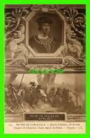 CÉLÉBRITÉS - CHARLES D'AMBOISE 11e DU NOM SEIGNEUR DE CHAUMONT PAR NAIGEON - DOS NON DIVISÉ - MUSÉE DE VERSAILLES - - Personnages Historiques
