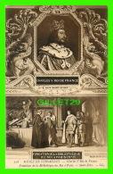 FAMILLES ROYALES - CHARLES V, ROI DE FRANCE PAR SAINT-EVRE - DOS NON DIVISÉ - MUSÉE DE VERSAILLES - - Royal Families