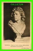 CÉLÉBRITÉS -ROBERT DE COTTE, ARCHITECTE 1767, MARBRE BIBLIOTHÈQUE SAINT-GENEVIÈVE - J. E. BULLOZ, ÉDITEUR  - COYZEVOX  - - Personnages Historiques