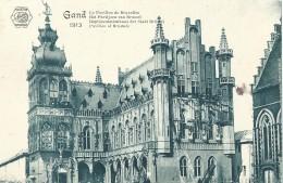 Gent Gand Le Pavillon De Bruxelles Het Paviljoen Van Brussel - L'Eclipse - 1913 - Gent