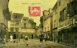 12 - MARCILLAC - Place Du Centre. - Otros Municipios