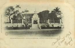 251017 - ILE DE LA REUNION - REUNION - COLONIES FRANCAISES - ST DENIS HOTEL DU GOUVERNEUR - Réunion