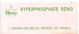 Buvard Réno Hyperphosphate Réno L'engrais Des Belles Prairies De France - Farm