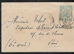 TUNISIA 1902 PC Sent To Paris USED - Tunisia