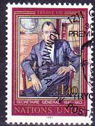 UN Genf  Geneva Geneve - Trygve Lie (MiNr: 151) 1987 - Gest Used Obl - Usati