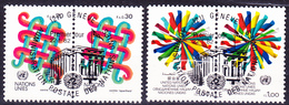 UN Genf  Geneva Geneve - Freimarke (MiNr: 103/4) 1982 - Gest Used Obl - Usati