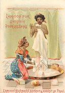 - Chromo  -ref-MA52 - Amidon Hoffmann Pour Le Bain - Blanchit Et Adoucit La Peau - Chromo Bon Etat - - Autres