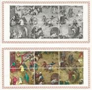 Jeux D'Enfants, Par Pierre Breughel L'ancien, Année 1550, Série Complète Oblitérée - Other