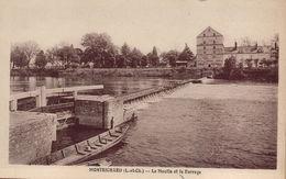 MONTRICHARD - Le Moulin Et Le Barrage - Montrichard