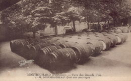 MONTRICHARD -Cave Des Grands Vins - J-M MONMOUSSEAU - Quai Des Arrivages - Montrichard