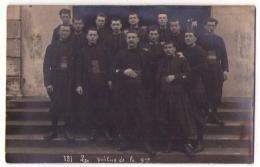 (Régiments) 072, Carte Photo, 9° RZ Régiment De Zouaves, Les Poilus De La 9ème - War 1914-18