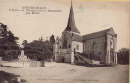 MONTRICHARD - L'Eglise De Nanteuil Et Le Monument Aux Morts - Montrichard