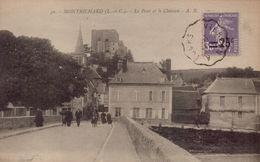 MONTRICHARD - Le Pont Et Le Chateau - Montrichard